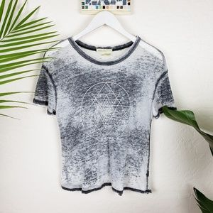 Urban Outfitters Mouchette | Burnout Graphic Tee